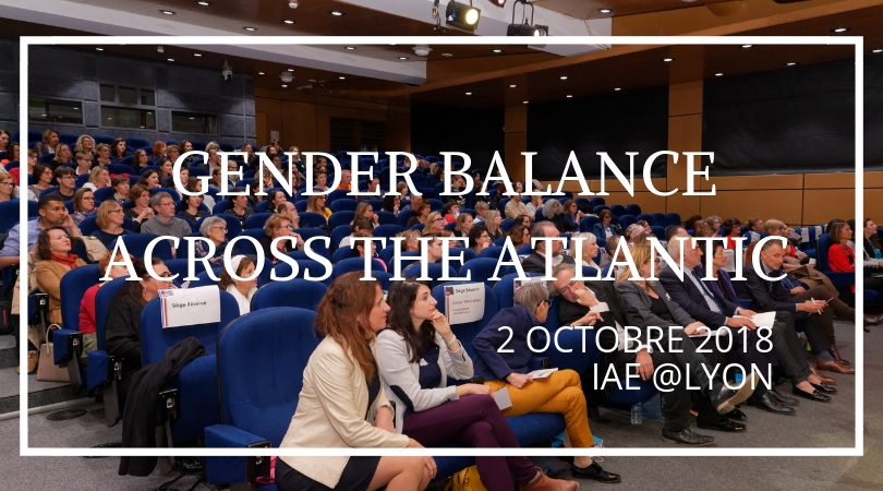 2 octobre 2018 – « Gender Balance Across the Atlantic »