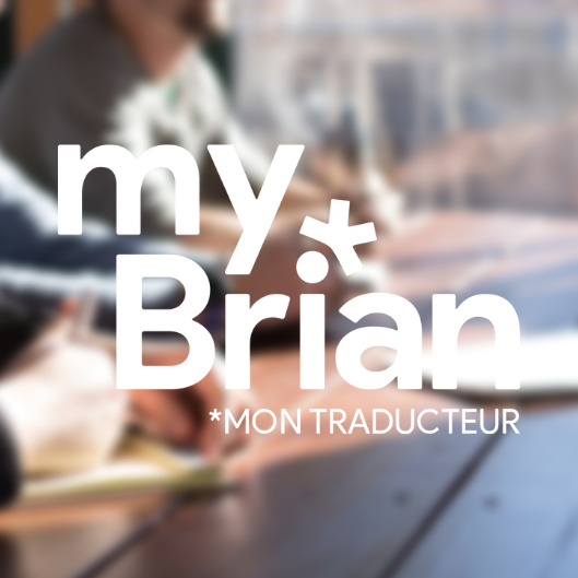 L'application de traduction MyBrian lance son nouveau site internet !