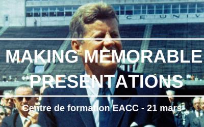 Making Memorable Presentations