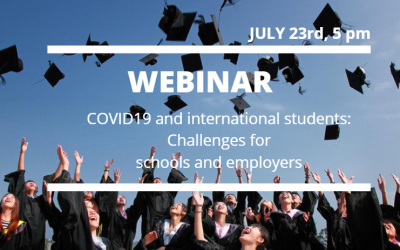 COVID19 and international students: Challenges for schools and employers