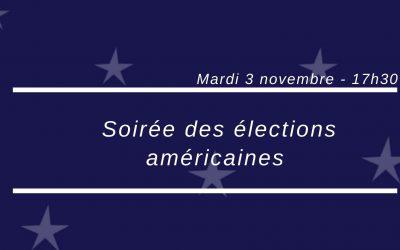 La soirée des élections américaines