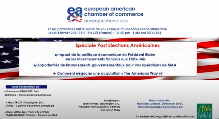 Table ronde : Spéciale Post Élections Américaines